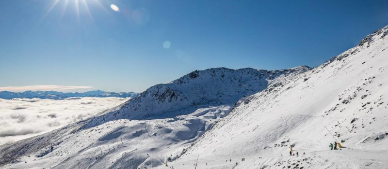 remarkables, New Zealand, avalanche
