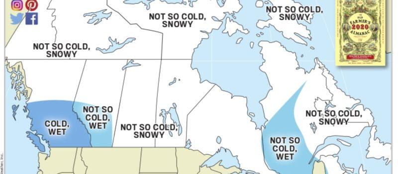 almanac, old farmer's almanac, forecast, winter, canada