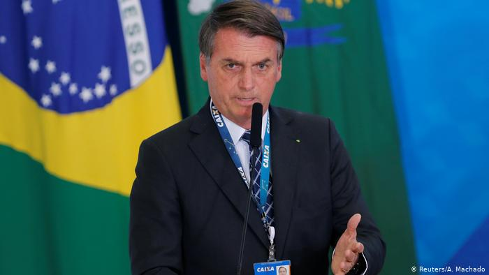 Jair Bolsonaro the 38th president of Brazil.