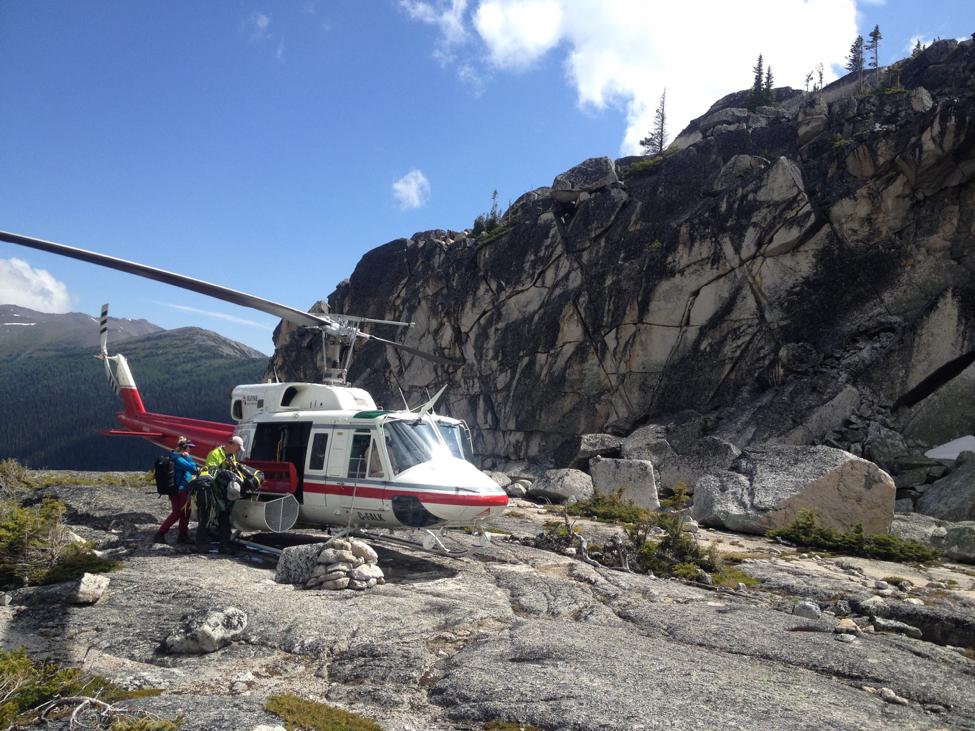 Backcountry Helicopter hiking, Heli-hiking