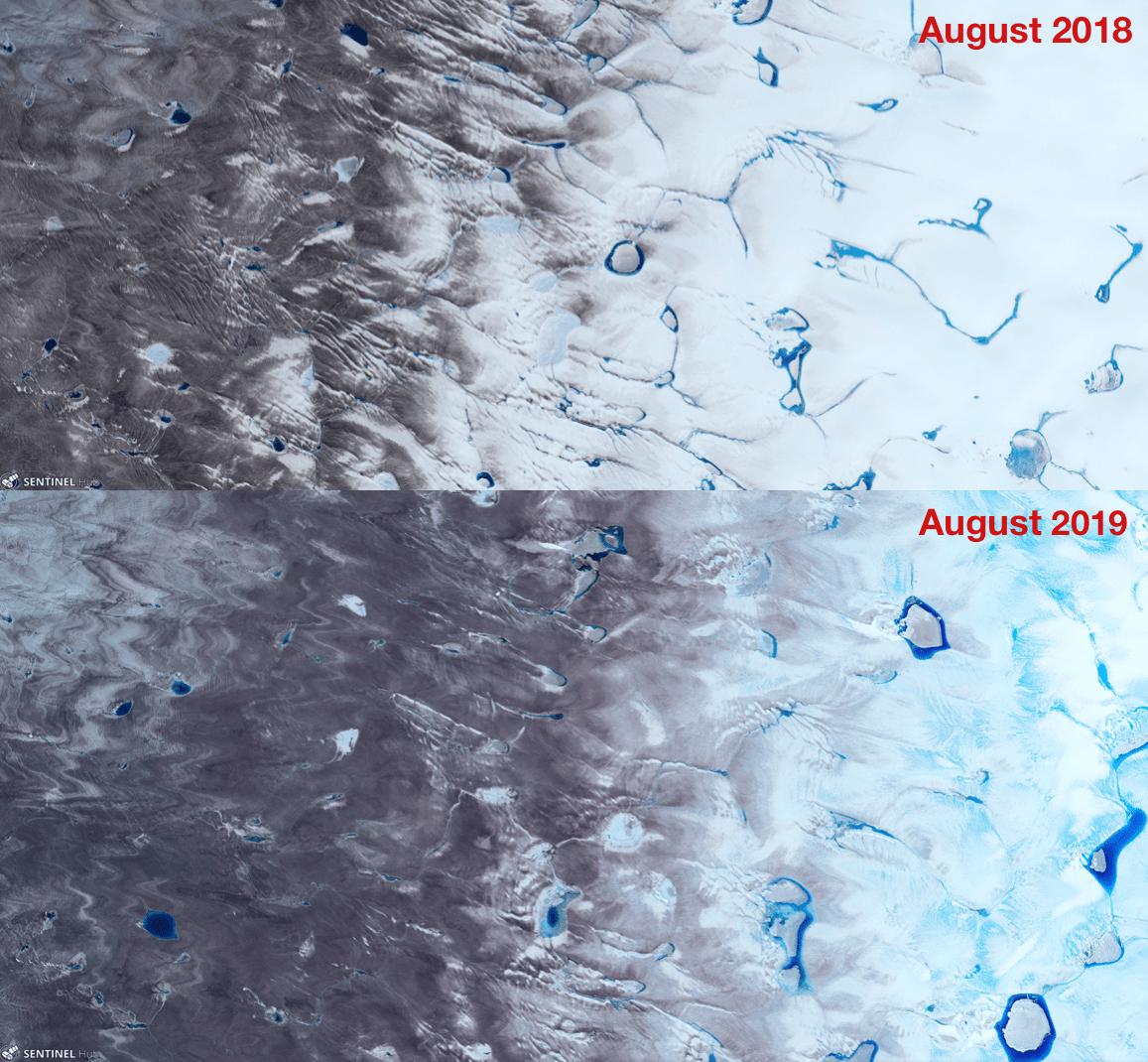 Greenland, ice, melt