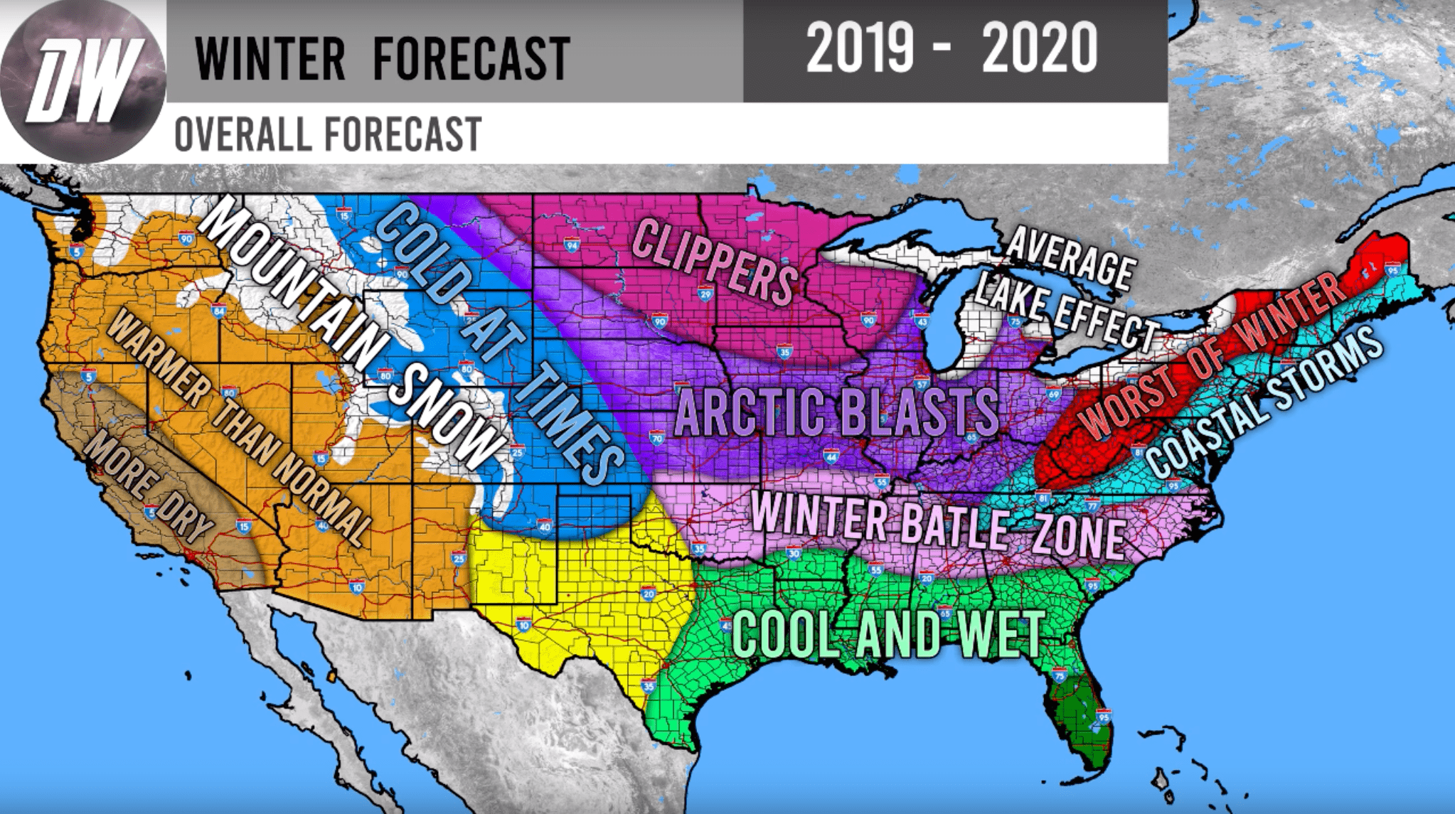 Winter 2019 2020.Direct Weather Winter Forecast Here S What Winter 2019 20