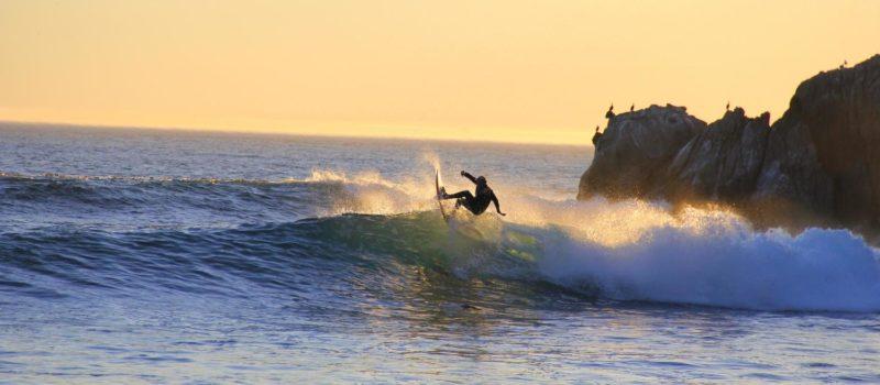 Surfing the Oregon Coast