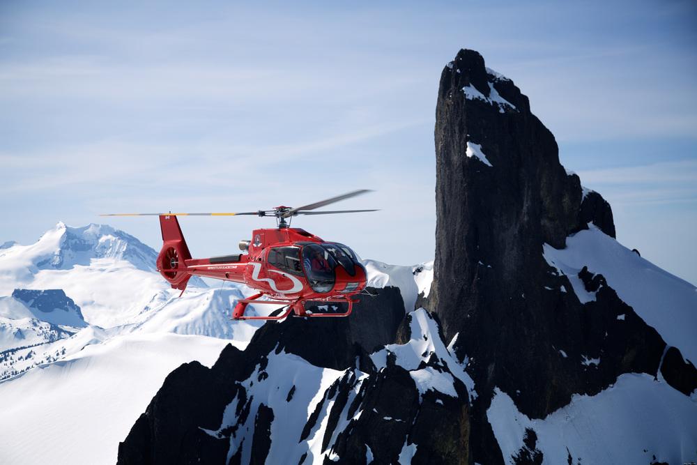 heli-paddling company provides heli skiing too