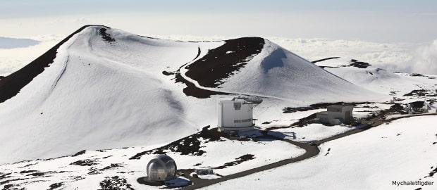 ski possible on hawaii volcano