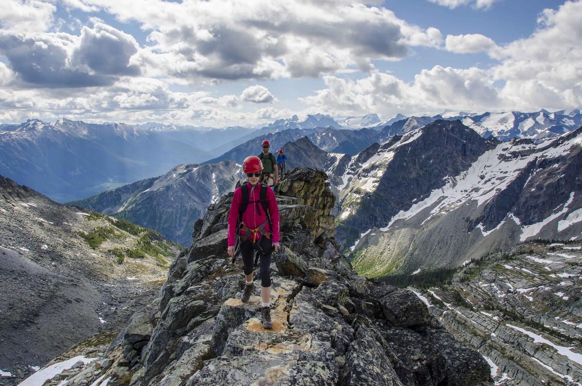 Heli Hiking, Heli-hiking
