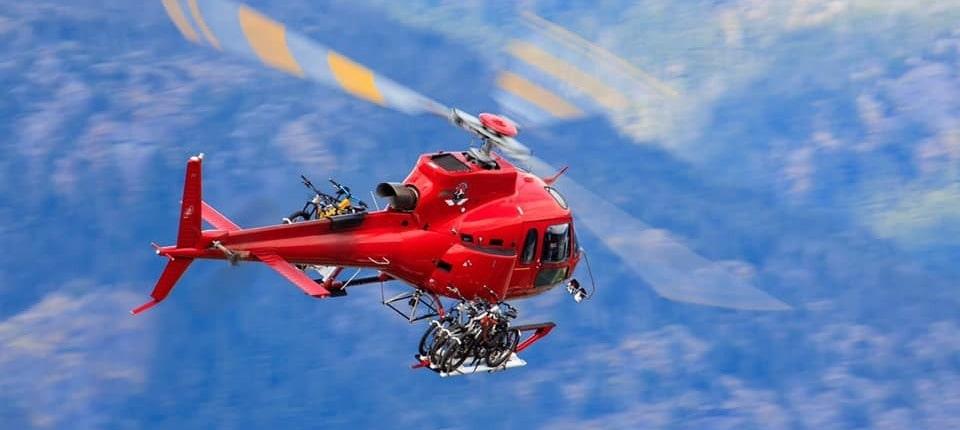 heli-paddling company also does heli-biking