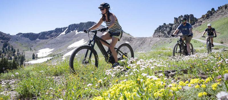 Squaw Valley, california, e-bike tours, e-bike