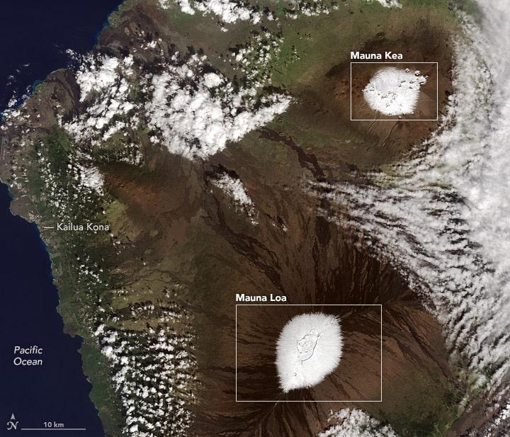 possible skiing in hawaii