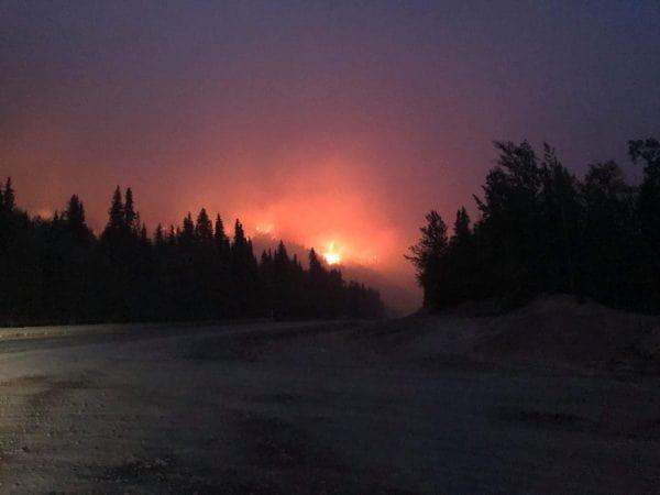 wildfire, wildfires, Alaska, usa,