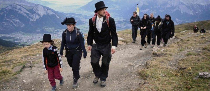 Switzerland, glacier, funeral,