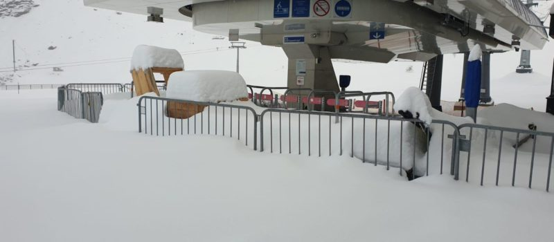 austria, europe, stubaier gletscher, opening early, snow