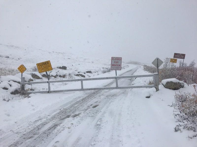 alaska, Hatcher Pass, closed,
