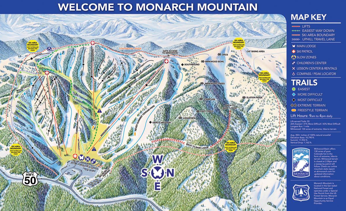 Monarch Mountain Colorado