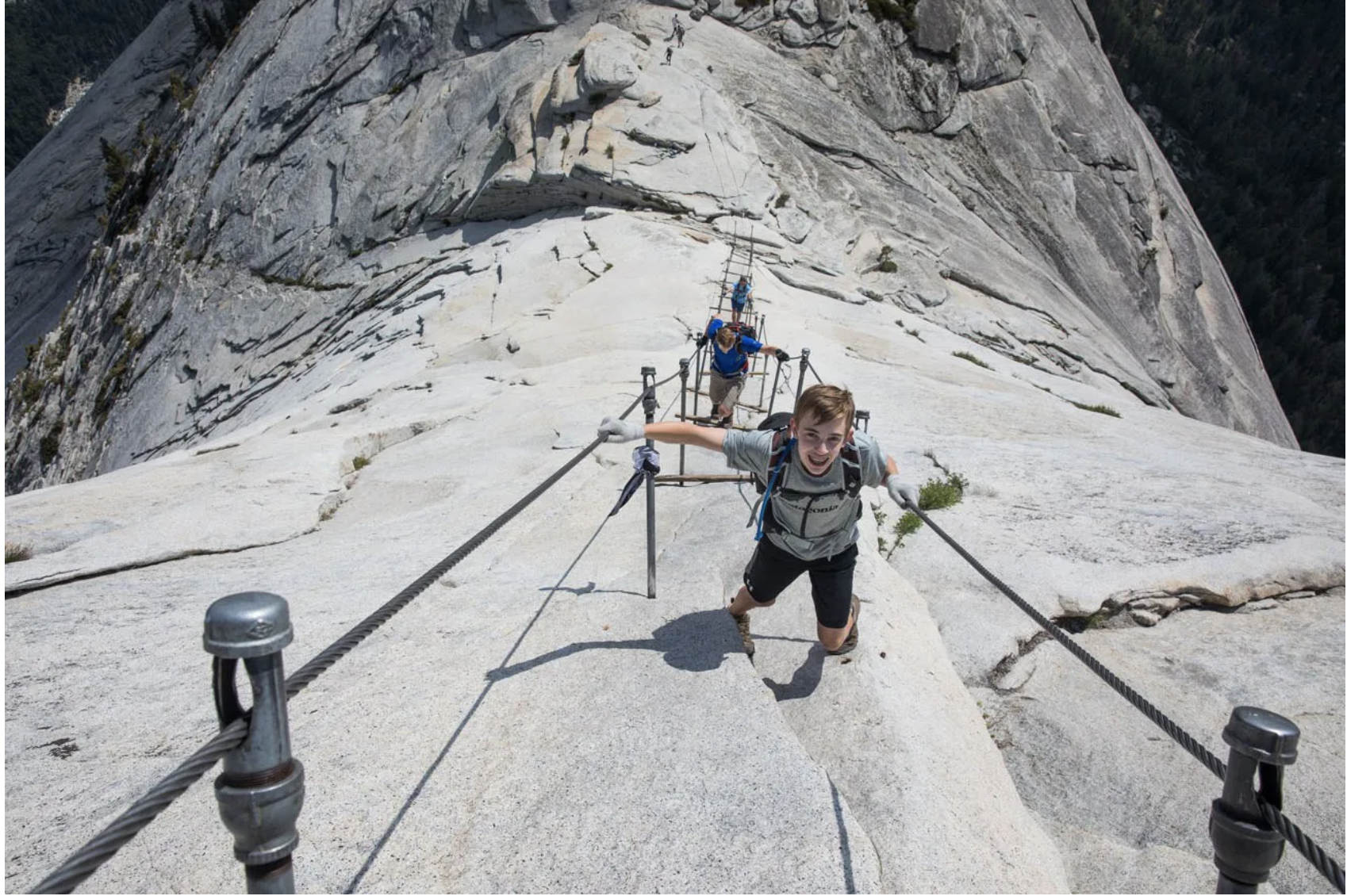 Woman Fell 500-Feet To Her Death From Half Dome Cables In