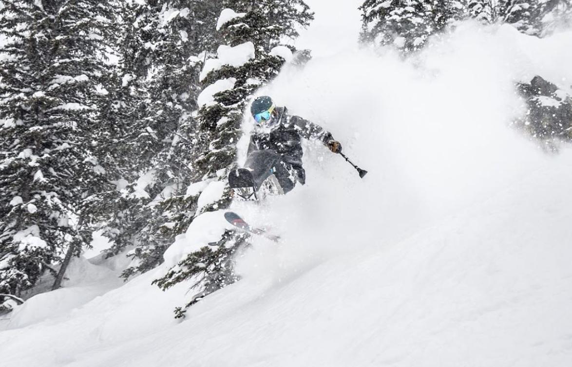 Trevor Sit-Skiing