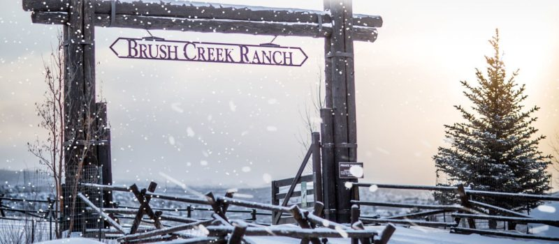 brush creek ranch, skiing, exclusive, private resort, wyoming