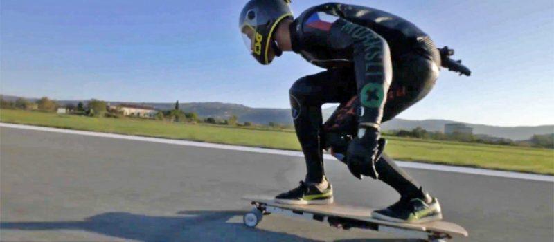 Electric Skateboarder
