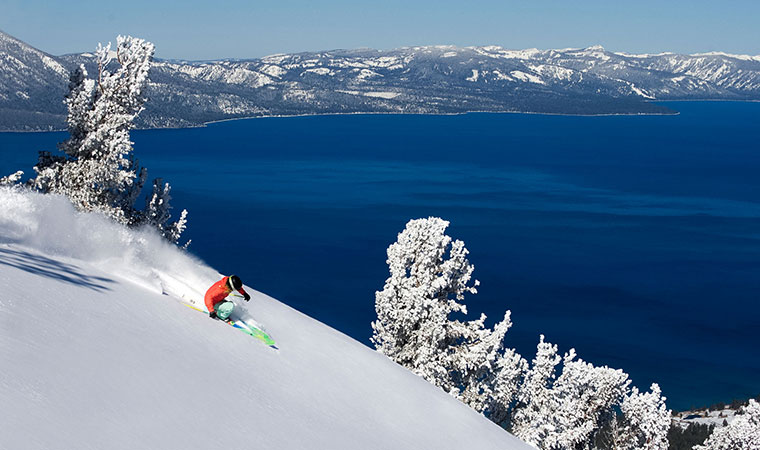 south lake Tahoe, heavenly ski resort