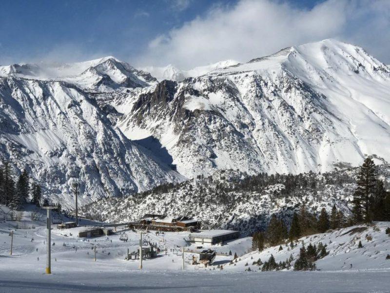 ski resort, June mountain,