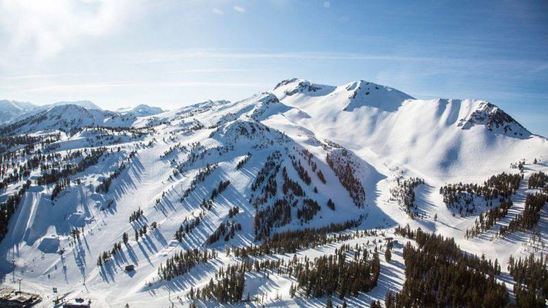 ski resort, mammoth, summit