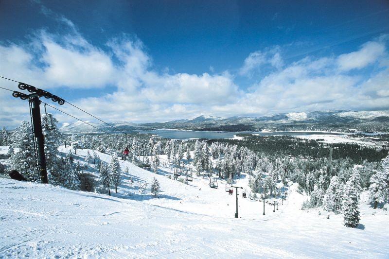 southern CA, ski resort, snow summit