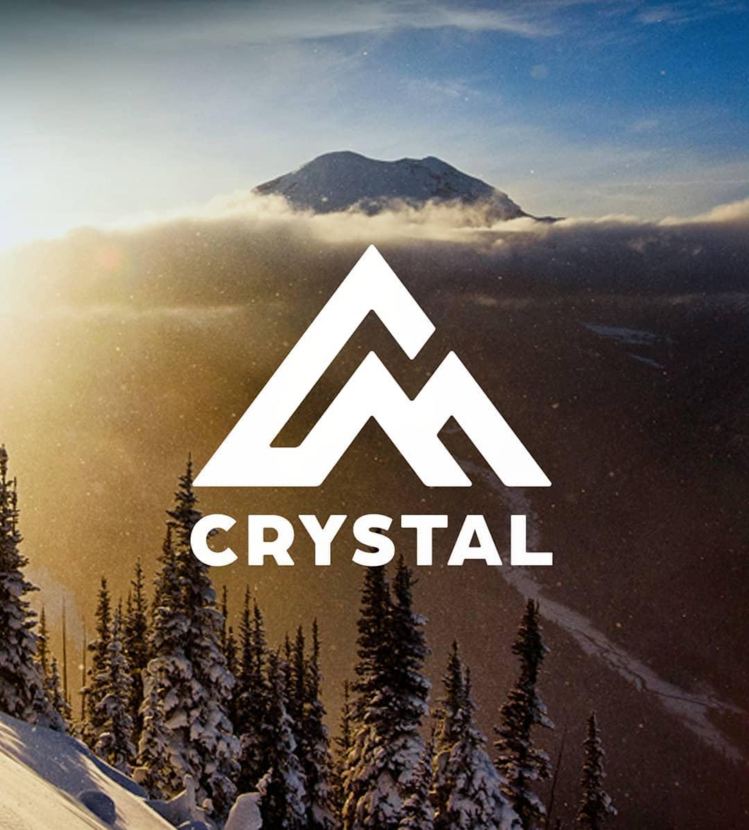 crystal mountain, washington, new logo