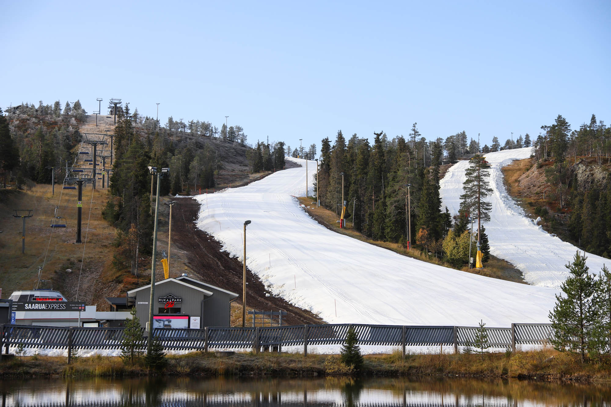non-glacial, ruka, Finland, Europe, first open