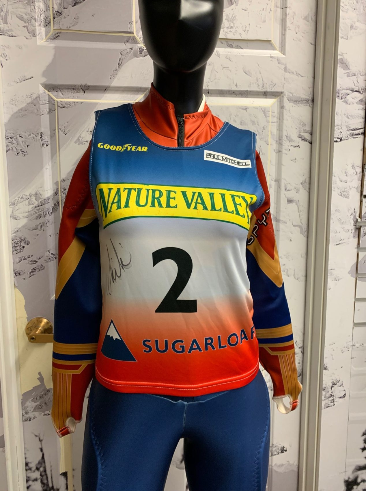 Killington, charity, KWCF, Mikaela Shiffrin, bib,