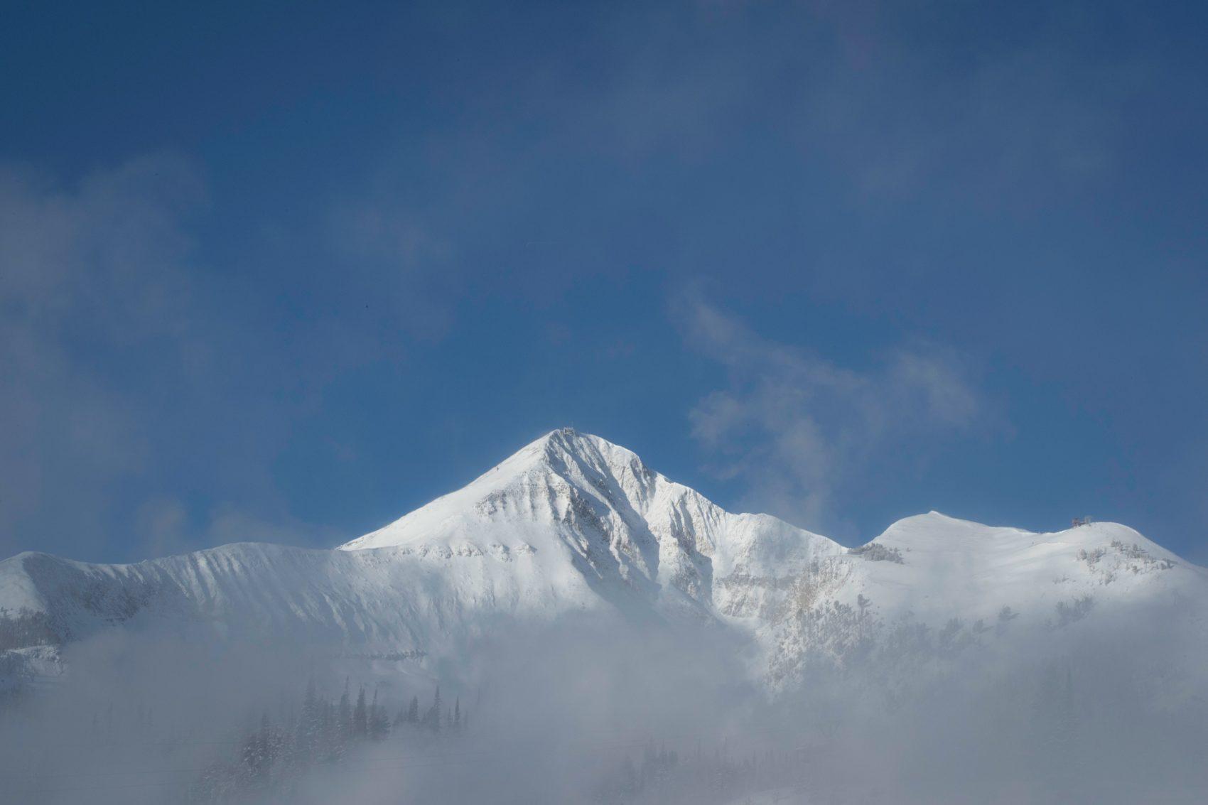 Big Sky's Lone Peak.