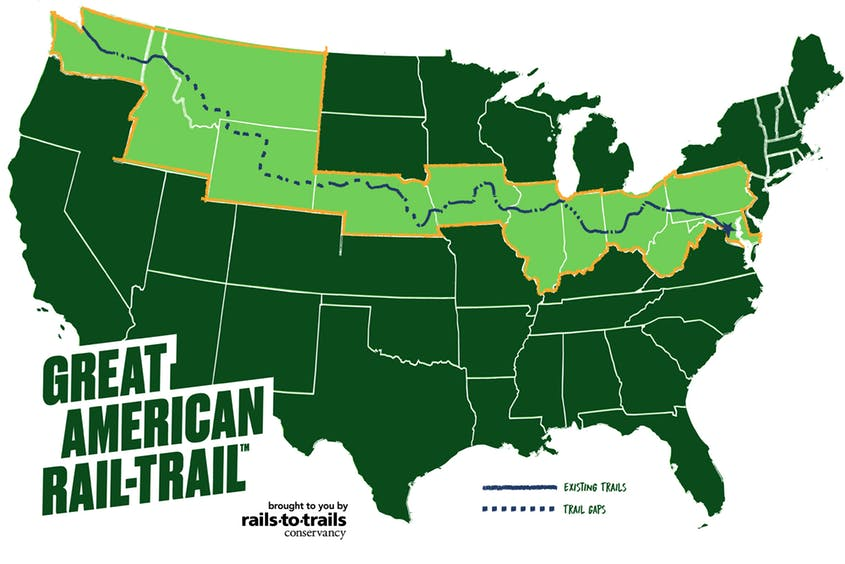 Coast-to-Coast Bike Trail