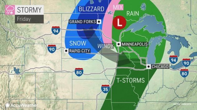 AccuWeather: Historic \'All-Out Blizzard\' to Bury Huge Swath ...
