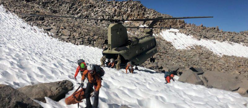 Climber killed on Mt. Sill, CA