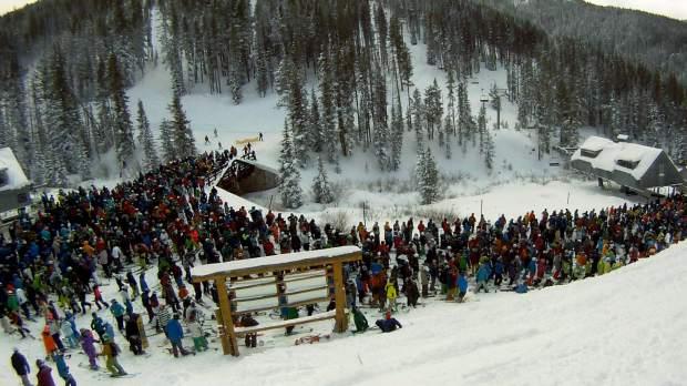 Crowded!