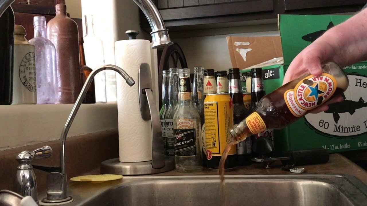 Wasting beer