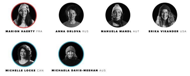 snowboard, women, FWT, free ride world tour,