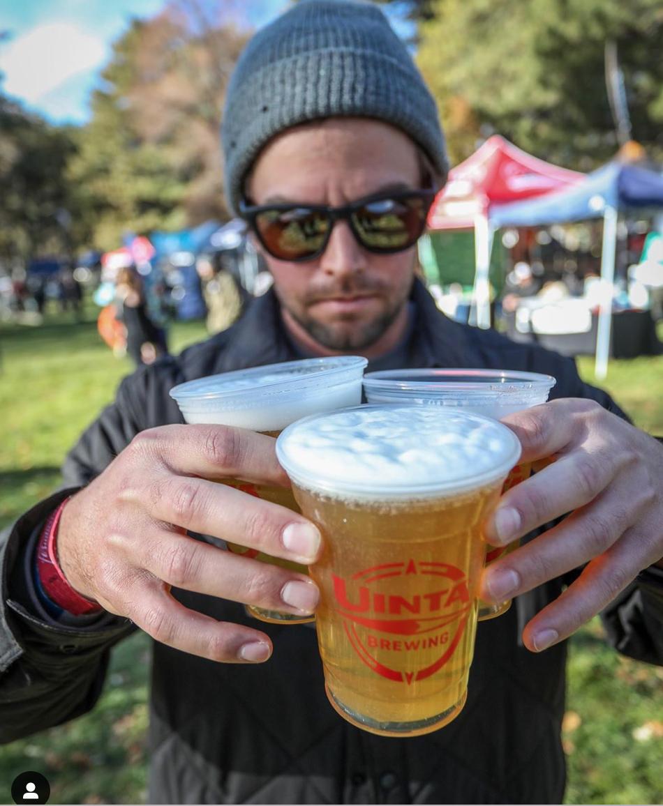 Beer Fest at Shred Fest