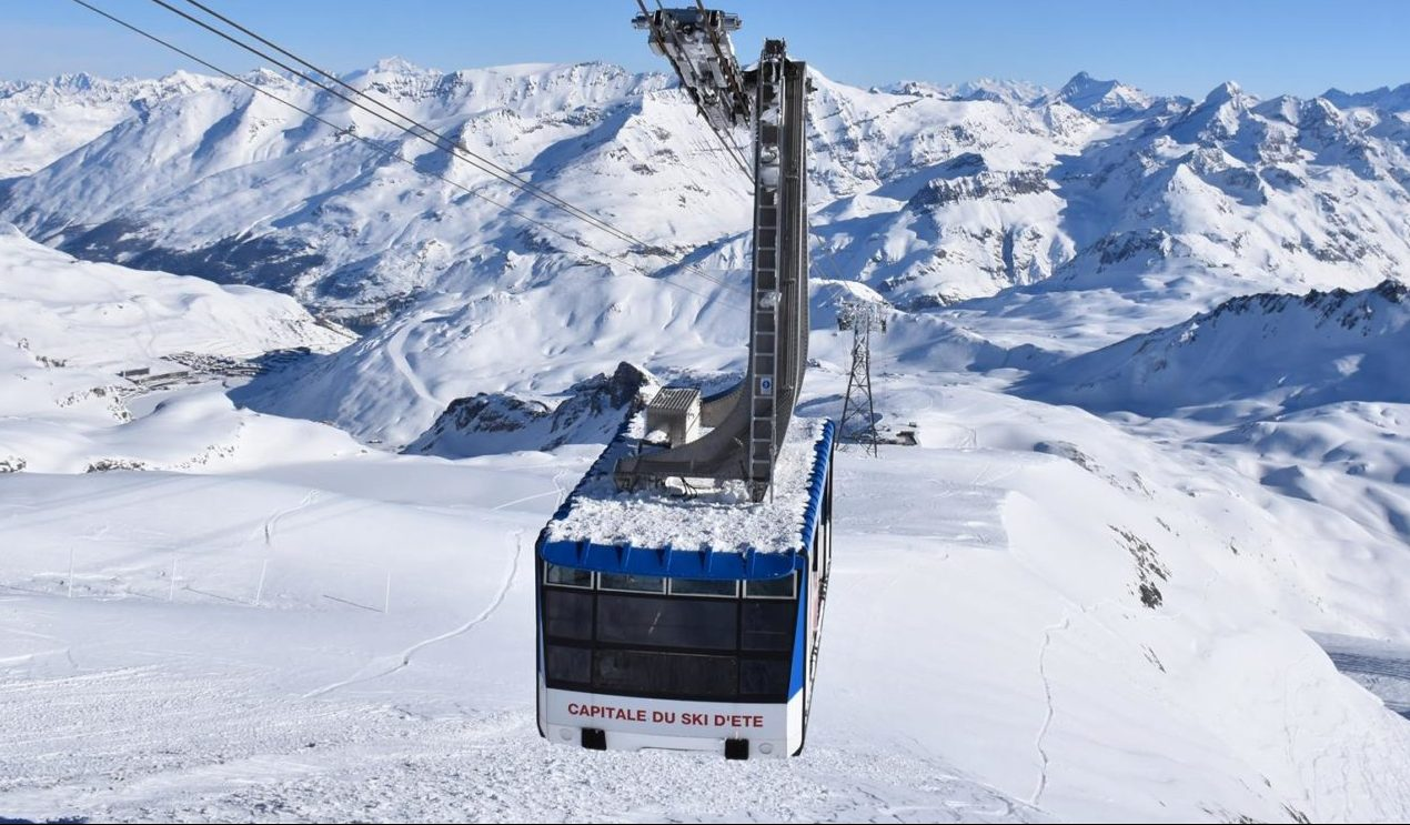 Tignes is opening for the winter season