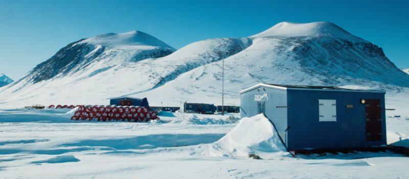 research station, zackenburg, greenland, arctic