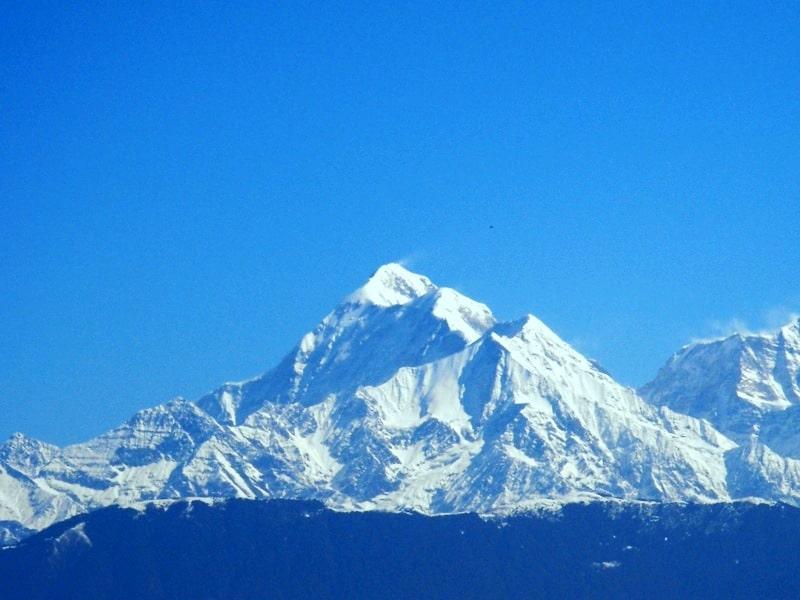 mount trishul, india, avalanche