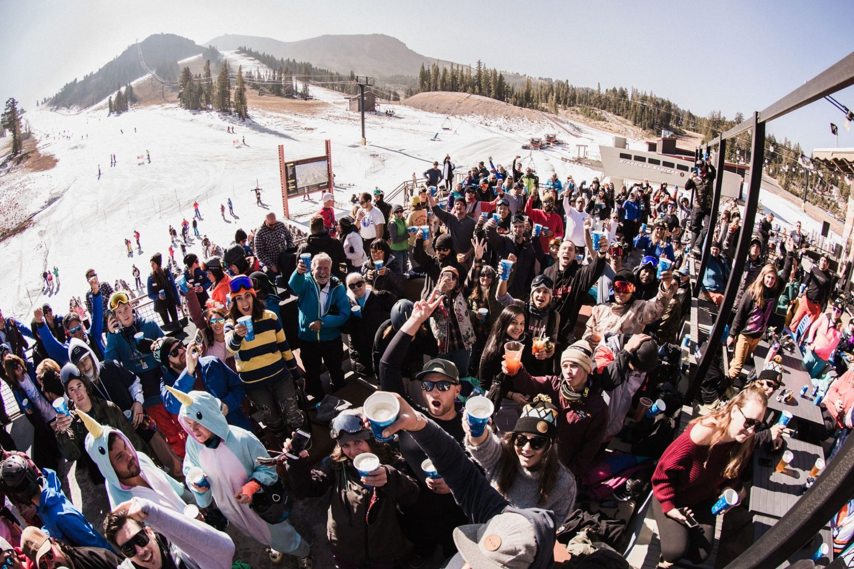 mammoth, opening day, california,