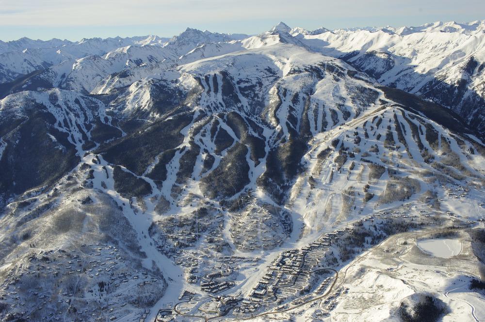 snowmass vertical drop