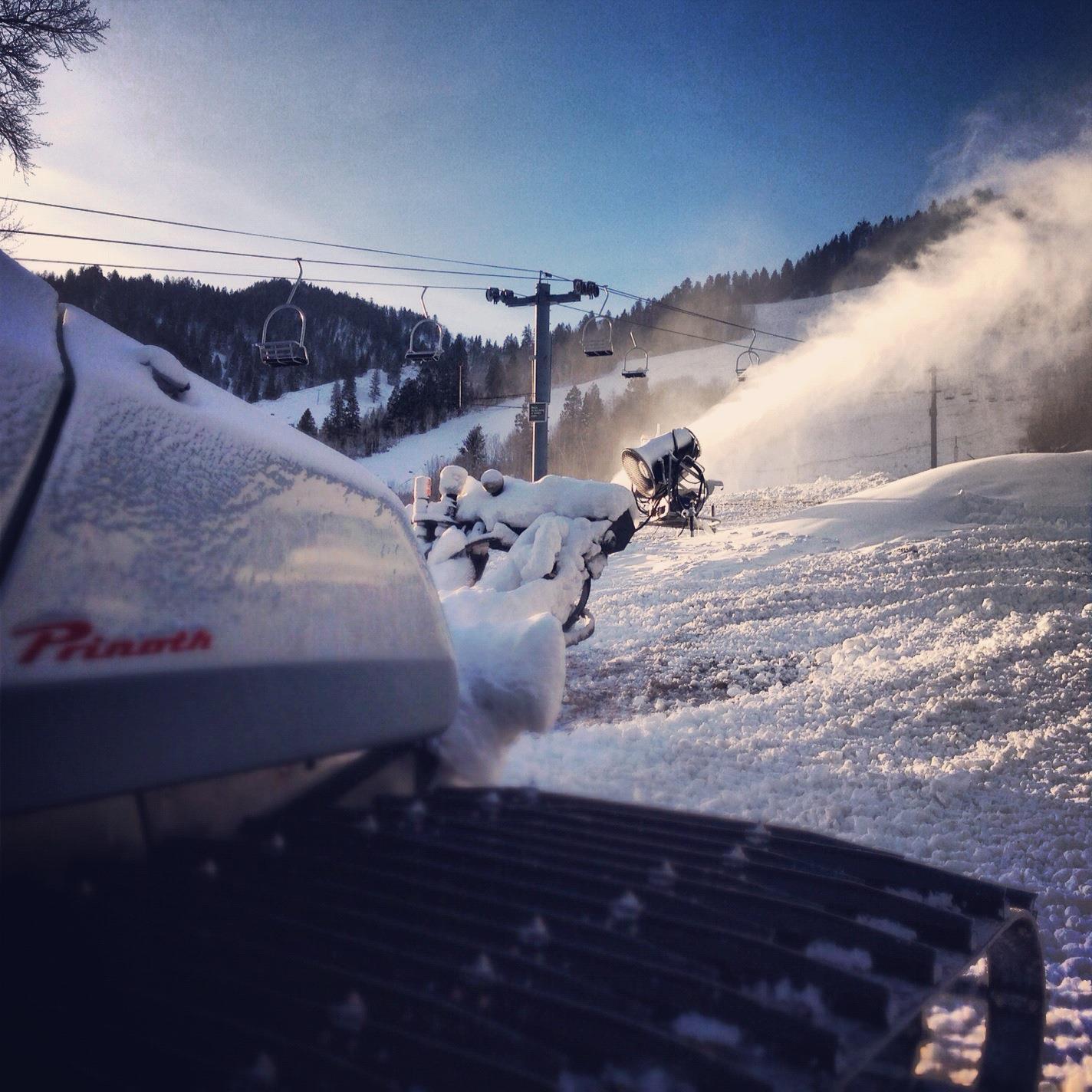 Aspen is opening early