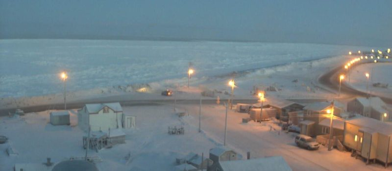 No sunrise in Barrow, Alaska for the next 2 months