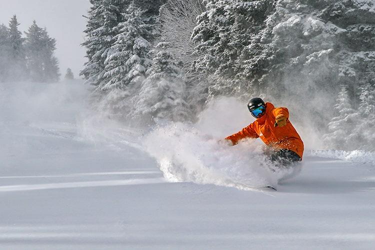 snowshoe, west Virginia, opening day