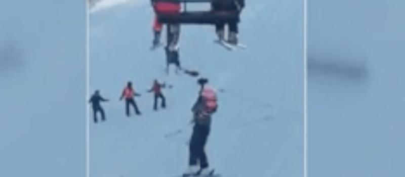 Vermont, mount snow, lift evacuation,