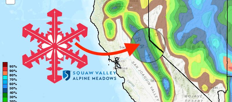 Squaw Valley, noaa, forecast, Tahoe, california