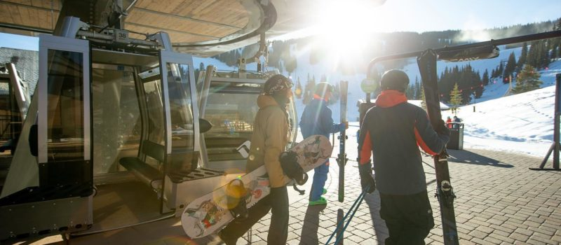 Vail opens