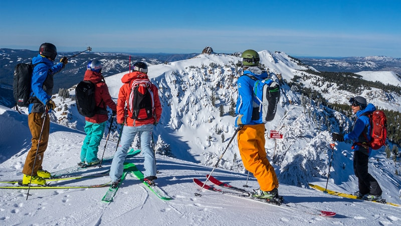 Alpenglow Expeditions, backcountry