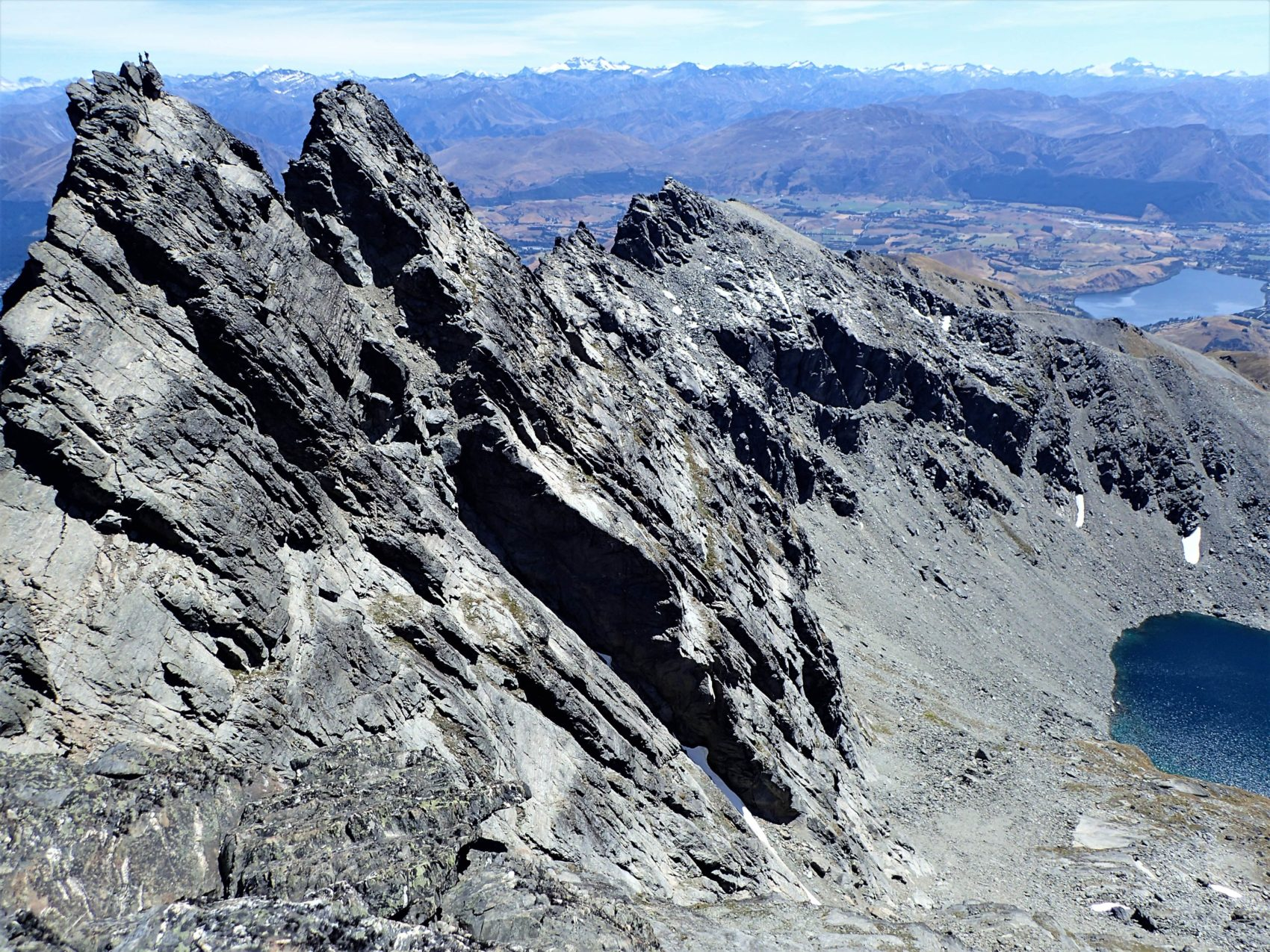 grand traverse, remarkables, new Zealand,
